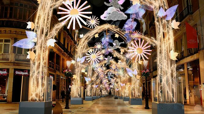 Christmas Light Show Near Me 2020.What To Do And See In Malaga At Christmas In 2019 Oh My