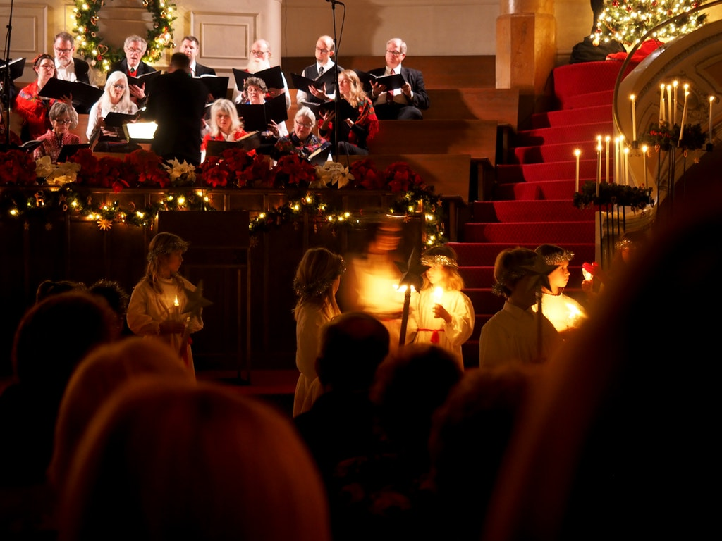 Christmas Music in a concert in Malaga