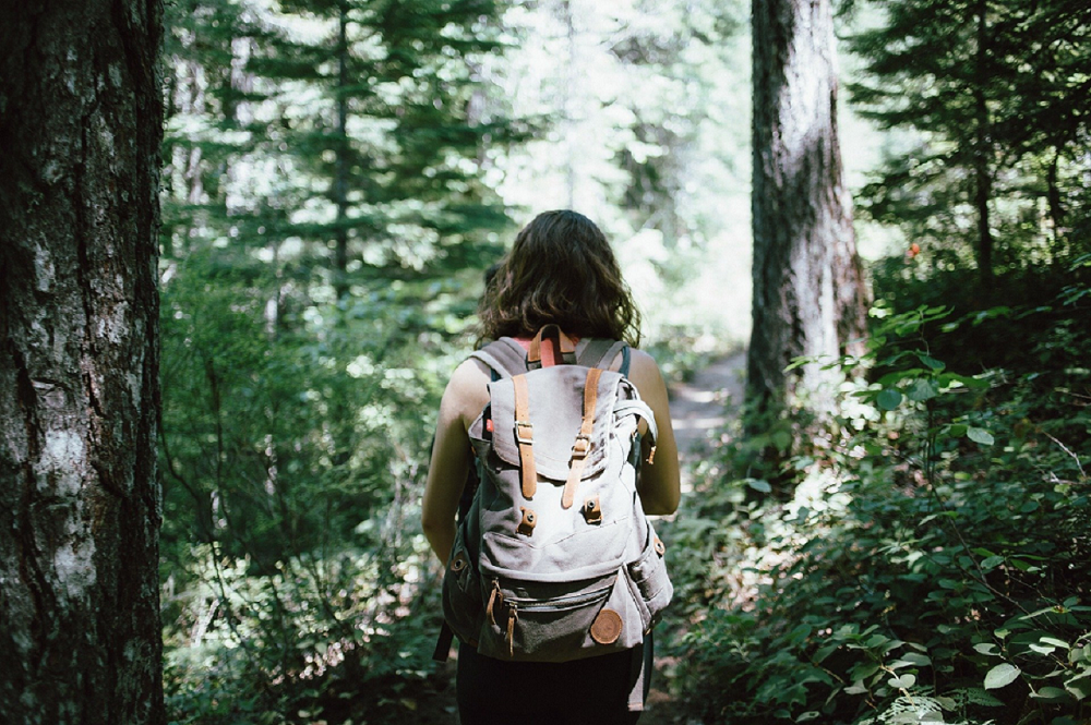 Pack Light, Use a backpack, Eco-traveling.