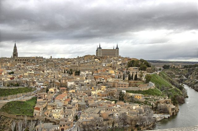 Complete overview of the city of Toledo