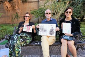 Drawing lessons and art tour