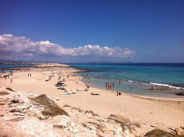 The astonishing beach in our rural holidays