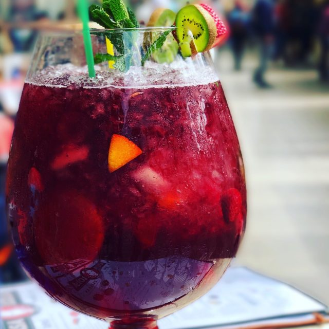 Sangria - a perfect wine drink for the hot summer days in Andalusia