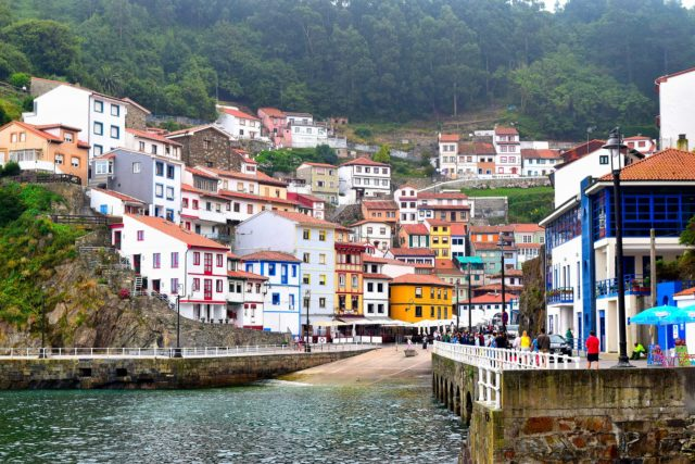 view of cudillero (Asturias) in our 2 weeks northern spain roadtrip itinerary