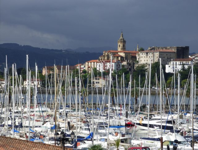view of Hondarribia port (Basque Country) during our 15 days northern spain roadtrip itinerary