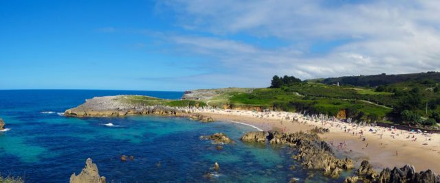 view of Llanes (Asturias) in our 15 days northern spain roadtrip itinerary