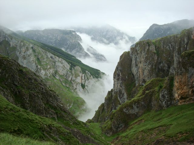 view of picos de europa in our 2 weeks northern spain roadtrip itinerary