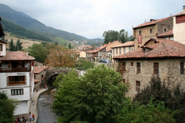 view of potes in our 2 weeks northern spain roadtrip itinerary