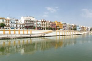 Triana bridge in Seville