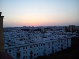 Picture from the twilight in Seville
