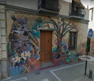 Graffiti in Granada