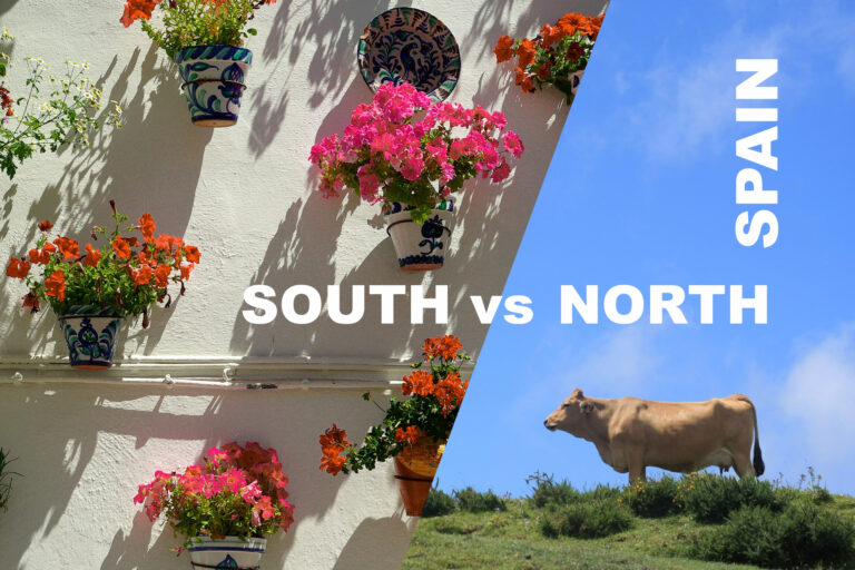 north vs south spain differences