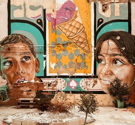 Street art tour in malaga