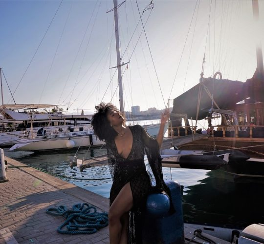 Photoshooting in the port