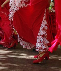 flamenco-costume-red